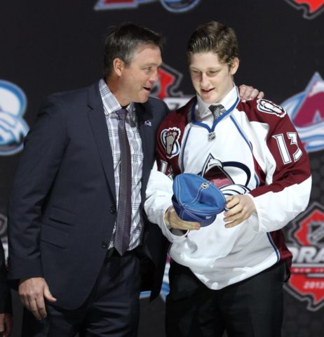 MacKinnon may not be wearing the Avalanche emblem if not for the shortened season (Ed Mulholland-USA TODAY Sports)