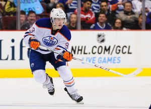 Ryan Nugent-Hopkins played multiple sports growing up, which helped him develop into an all-around athlere (Anne-Marie Sorvin-USA TODAY Sports)