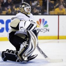 Bylsma made a smart and necessary move to Vokoun in net. (Greg M. Cooper-USA TODAY Sports)