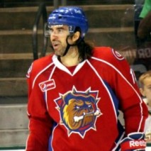 Zack Stortini Playing With The AHL's Bulldogs Zack Stortini Photo Credit:(Ross Bonander/THW)
