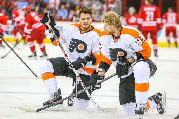 Philadelphia Flyers Lines