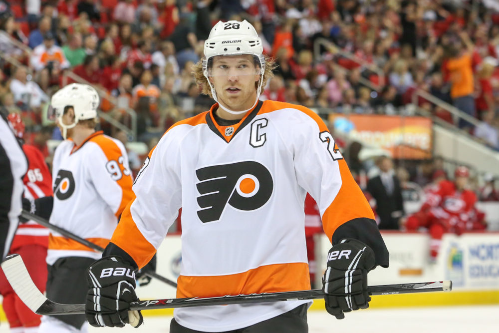 Bobby Clarke Trophy Most Valuable Player Claude Giroux