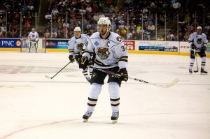 Bears captain Dan Byers has eight points in February. (Annie Erling Gofus/The Hockey Writers)
