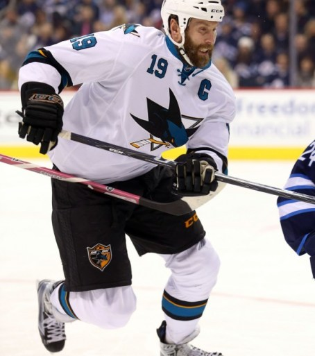 Joe Thornton (Bruce Fedyck-USA TODAY Sports)