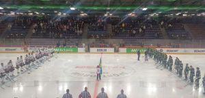 Frölunda Indians take on Färjestad at the European Trophy Finals (J.Deluca/THW)