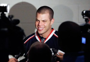 Nathan Horton was signed by the Jackets, but has missed 32 games recovering from shoulder surgery. (Fred Squillante/Columbus Dispatch)