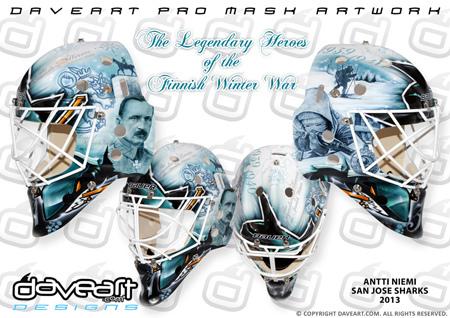 Antti Niemi Sharks Mask