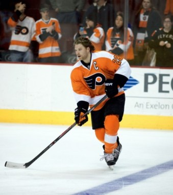 Are the Flyers threatened by the Caps? Claude Giroux's nine points in five games suggests they aren't.