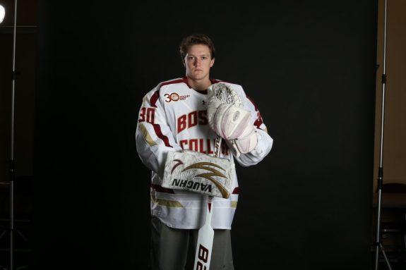 Demko Boston College Eagles Canucks