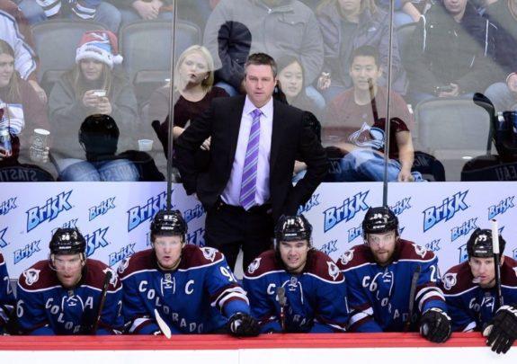 Ex-Colorado Avalanche head coach Patrick Roy