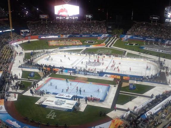 hockey outdoors in LA