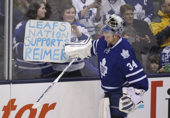 James Reimer, Toronto Maple Leafs, NHL