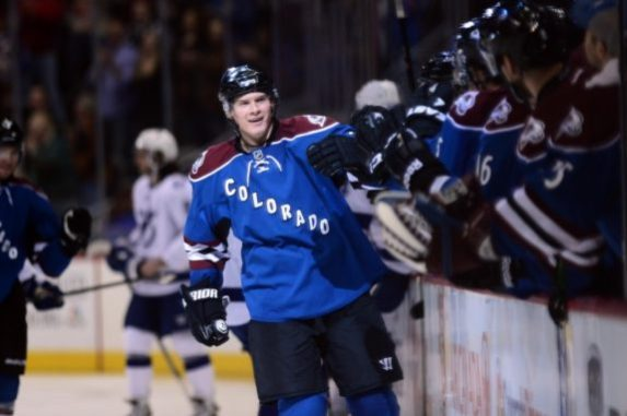 Nick Holden has been a great addition to Colorado's power play which has taken a team from 29th place a year ago, to competing with the likes of Chicago(Ron Chenoy-USA TODAY Sports)