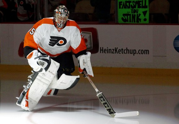 Despite attempts to cause a goalie controversy in Philadelphia, Steve Mason is Flyers' go-to guy when healthy.