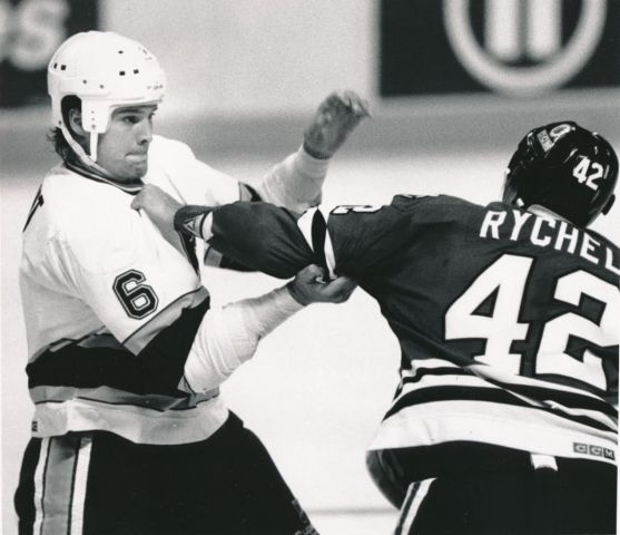 Tony Twist, Warren Rychel, NHL, Warriors on the Ice, Hockey, Fighting, Book Review