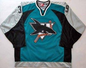 San Jose Sharks Third Jersey