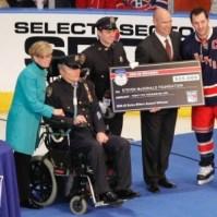 Ryan Callahan Accepts 2012 Extra Effort Award(Debby Wong-USA TODAY Sports)