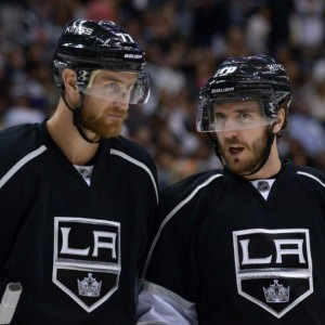 Mike Richards, Jeff Carter, Milestones, NHL, Los Angeles Kings