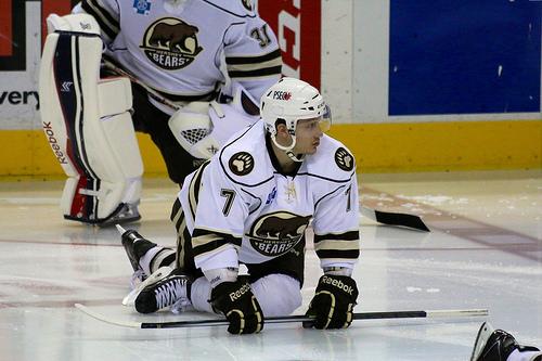 Hershey Bears defenseman Steve Oleksy (stat19/Flickr)
