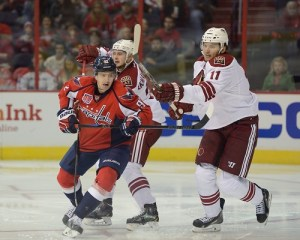 Trotz' patience with Evgeny Kuznetsov has paid huge dividends. (Tom Turk/THW)