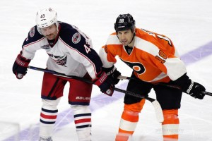 Will Hartnell also be scratched against his former team the Flyers? [photo: Amy Irvin]