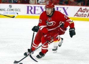 Carolina Hurricanes Justin Faulk (James Guillory-USA TODAY Sports)