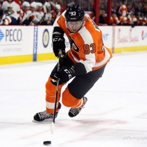 Jakub Voracek is off to a cold start this year(Amy Irvin / The Hockey Writers)