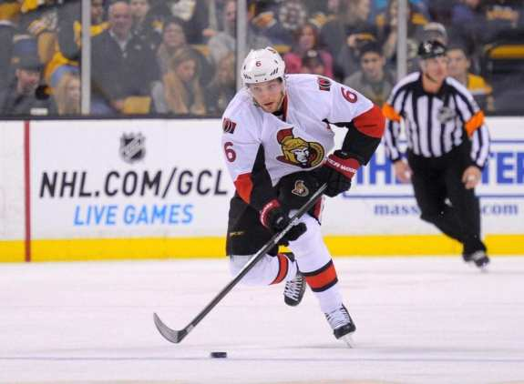 Bobby Ryan is tied for the team lead in points this season. (Bob DeChiara-USA TODAY Sports)