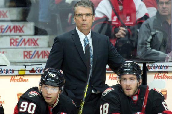 Ottawa Senators Dave Cameron