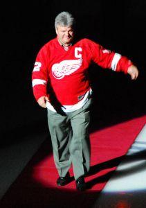 Former Detroit Red Wings center Marcel Dionne.