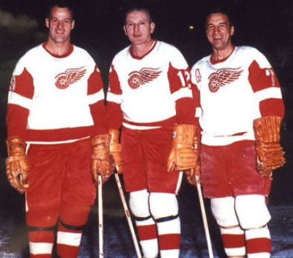 Ted Lindsay of the Detroit Red Wings.Red Wings Trades