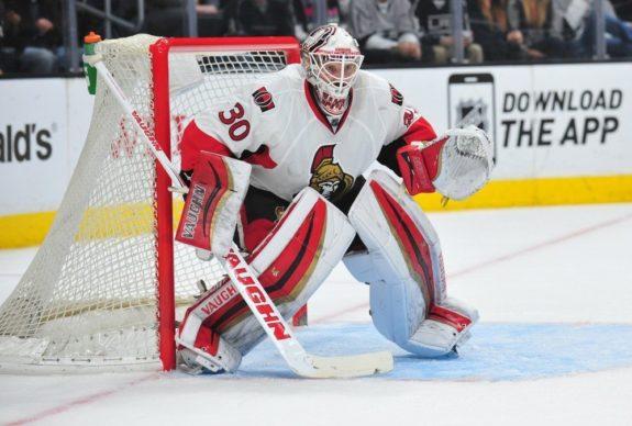 Andrew Hammond, Ottawa Senators, NHL, Milestones