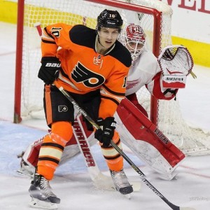 Brayden Schenn has become an important player for the Flyers during his five-season career with the club. (Amy Irvin/The Hockey Writers)