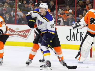 (Amy Irvin/The Hockey Writers) In Tommi's position, it makes total sense to trade for Jori Lehterä and maintain his win-now mentality. Adding the St. Louis Blues forward to the fold will certainly help Tommi's chances of repeating as league champion.