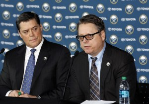 Buffalo Sabres general manager Tim Murray