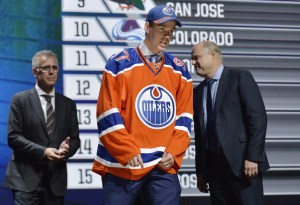 Connor McDavid: The generational talent is finally officially a member of the Edmonton Oilers. (Steve Mitchell-USA TODAY Sports)