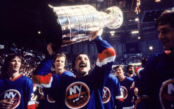 Islanders Trottier Bossy Stanley Cup
