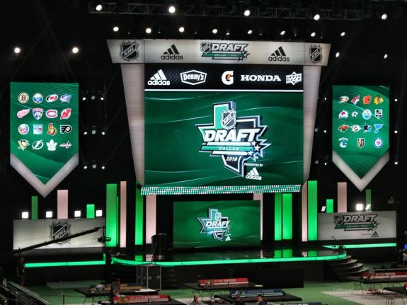 2018 NHL Draft stage