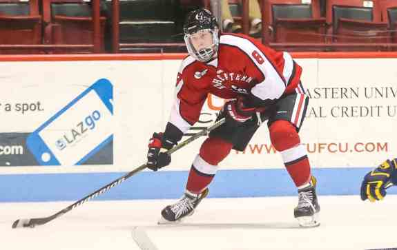 Adam Gaudette Northeastern University Huskies