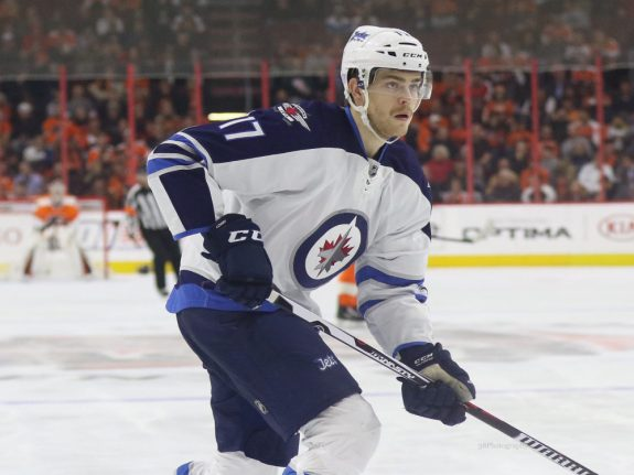 Winnipeg Jets forward Adam Lowry