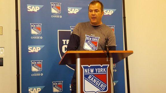 Alain Vigneault - New York Rangers