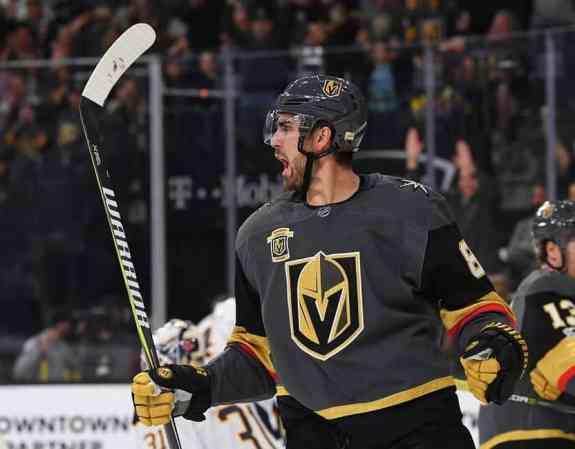 Vegas Golden Knights, Alex Tuch, Expansion Draft
