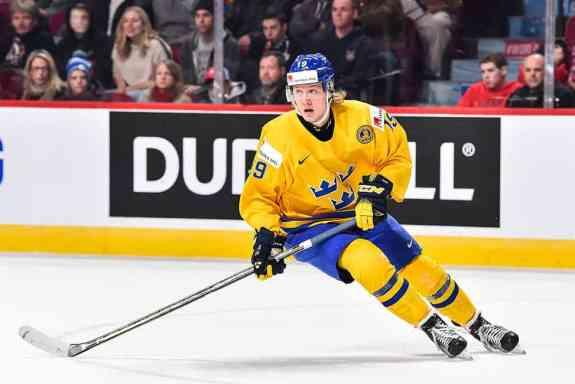 Alexander Nylander Team Sweden