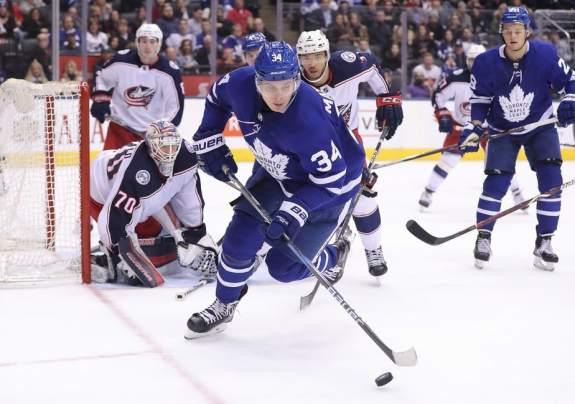 Maple Leafs center Auston Matthews