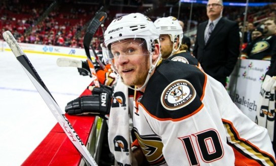 Ducks' Perry Primed to Rebound