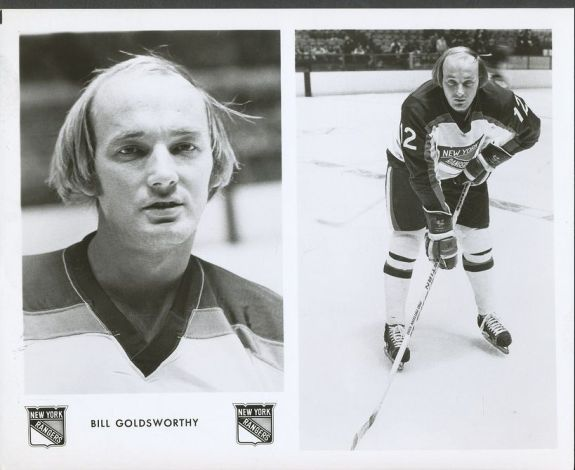 Bill Goldsworthy New York Rangers