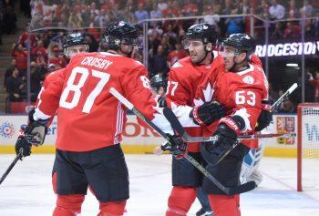 Brad Marchand, World Cup of Hockey, Team Canada, Patrice Bergeron, Sidney Crosby