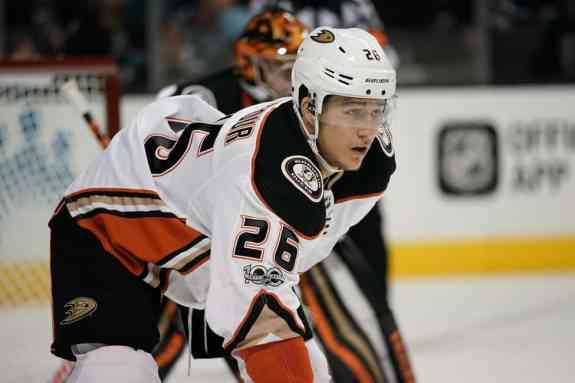 Anaheim Ducks defenseman Brandon Montour
