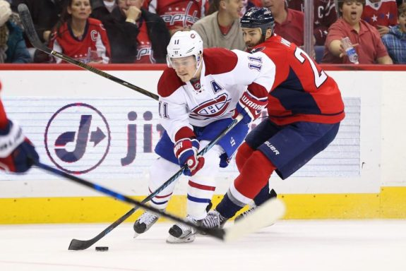 Montreal Canadiens forward Brendan Gallagher