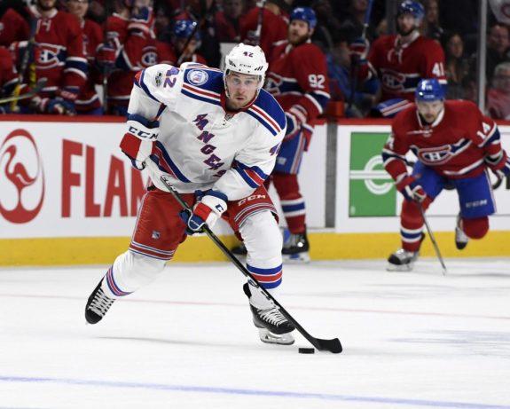 Brendan Smith, New York Rangers, NHL